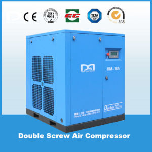 10 HP / 7.5kw Belt Driven Industrial Electric Stationary Rotary Air Screw Compressor for Sale pictures & photos