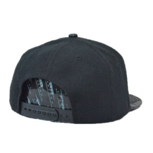 High Quality PU Promotional Snapback Cap Flat Brim Cap pictures & photos