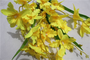 Artificial Flower Orchid Factory Made High Quality for Decoration pictures & photos