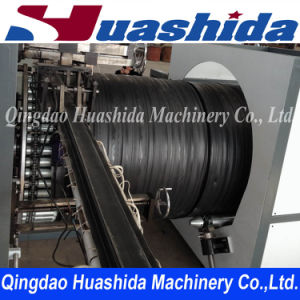 Plastic Extruder Double Smooth Wall Steel Reinforced Polyethylene Pipe Extrusion Line pictures & photos