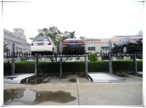 Quality Hydraulic Two Post Car Parking pictures & photos