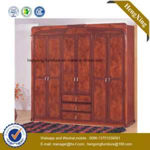 High Quality Classic Wooden Storage Closets Chinese Furniture Wardrobe (HX-S912) pictures & photos