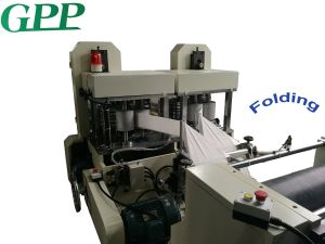 Fully Automatism Embossing Printing Napkin Paper Folding Machine pictures & photos