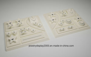 High-End PU Jewelry Sets of Display Stand pictures & photos