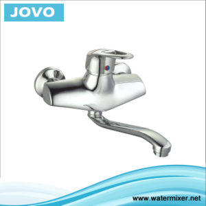 Nice Design Single Handle Wall-Mounted Kitchen Mixer&Faucet Jv72803 pictures & photos