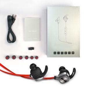 Magnetic Function Waterproof Sweatproof Sport Wireless in-Ear Bluetooth Headset pictures & photos