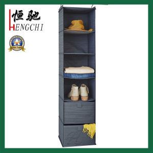 Folding Storage Laundry Hamper Canvas Cotton Clothes Basket pictures & photos