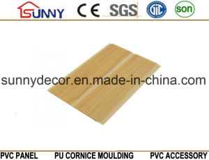 Wooden Color PVC Wall Panels, Interior Decorative PVC Tile, China Manufacturer PVC Ceilings pictures & photos