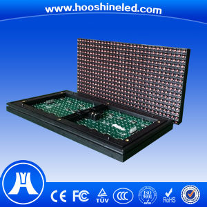 Easy to Install P10 DIP546 Red Color Scrolling LED Reader Board Signs pictures & photos