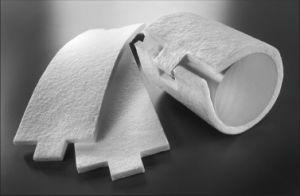 Ceramic Fiber Support Mat