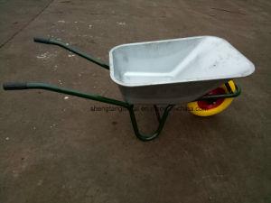 Flat Free Diamond Pattern Wheelbarrow Tire PU Foam Wheel 4.80/4.00-8 pictures & photos