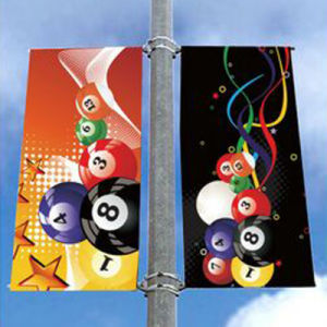 Full Color New Design High Quality Double Sided Graphics Banners pictures & photos