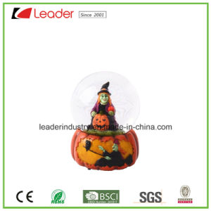 Polyresin Water Globe with Dog Figurine for Promotional Gift and Home Decoration pictures & photos
