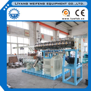 Manufactory Offer Single/Twin Screw Floating Fish Pelleting Machine pictures & photos