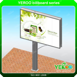 Outdoor Billboard-Steel Structure Billboard-Double Sided Column Billboard pictures & photos