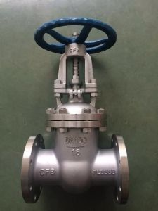 Ss304/Ss316 Flange Gate Valve in with ANSI/API Standard (Z41) pictures & photos