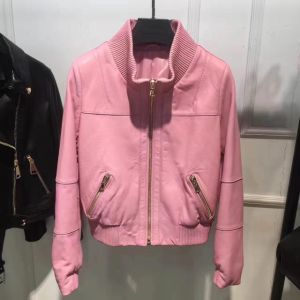 100%Leather Jacket, Clothing, High Quality, Pink, Special pictures & photos