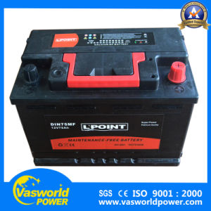 57412 12V74ah Maintenance Free Car Battery pictures & photos