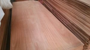1250X2500X0.15-0.6mm Rotary Cut Okoume Veneer From Linyi Jiate pictures & photos