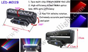 7X15W LED Pixel Bar Light with Endless Rotation pictures & photos
