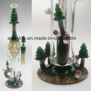 Thick Glass Art Made in China by Hbking Factory Recycle Glass Water Pipe Oil Rigs Glass Bubbler Klein Glass Water Pipe pictures & photos