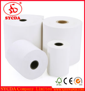 """Waterproof 3 1/8"""" X 230′ Thermal Paper Cash Register Papers Rolls POS Paper Roll pictures & photos"""