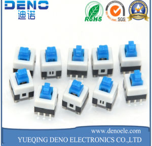6 Pin Self Locking Key Press Switch pictures & photos
