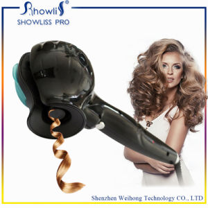 2016 Newest Professional Hair Curler Steam Curl Rotating Curling Iron