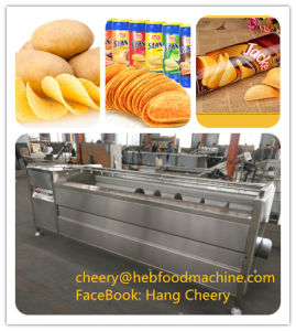 China Full Automatic Industrial Customized Fresh Potato Chips Making Machine pictures & photos