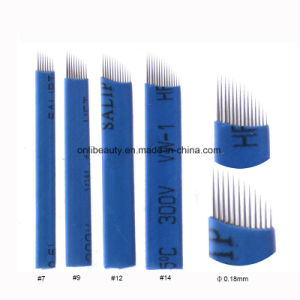 50 PCS Eo Gas Sterilized Nanostroking Needle Blades pictures & photos