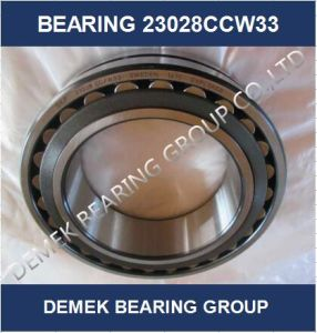 High Quality Spherical Roller Bearing 23028 Ccw33 with Steel Cage pictures & photos