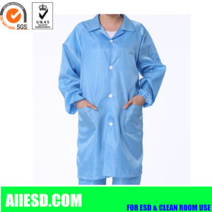 Carbon Fiber and Polyester ESD Smock pictures & photos