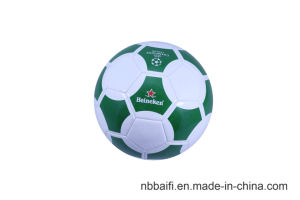 Machine Stitched Customized PVC Size 5 Soccer Ball pictures & photos