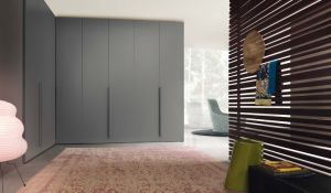 White & Grey Wardrobe Cabinet Dressing Room Furniture pictures & photos