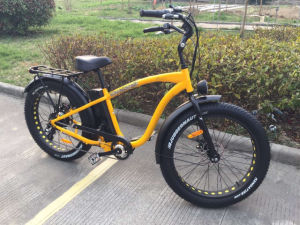 48V 500W Fat Tyre Electric Bicycle with Powerful Motor and Durable Lithium Battery pictures & photos