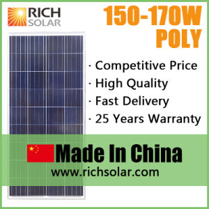 150W Poly Photovoltaic Solar Panel for Home Use
