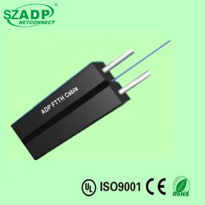 Butterfly Drop Cable G652D or G657A LSZH Jacket FTTH Indoor Fiber Optic Flat Cable pictures & photos