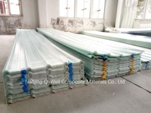 FRP Panel Corrugated Fiberglass/Fiber Glass Roofing Panels C17001 pictures & photos
