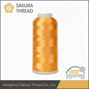 Oeko-Tex 100 High Tenacity Rayon Embroidery Thread 120d/2 China Supplier pictures & photos