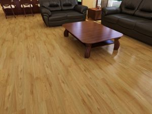 12.3mm Good Quality Floating Wood Floor pictures & photos