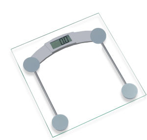 Bathroom Scale with Transparent Platform (81506A) pictures & photos