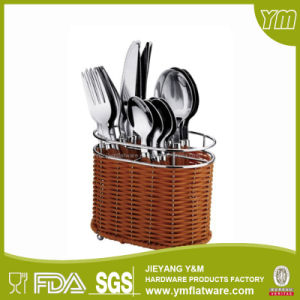 Excellent Quality 24PCS Plastic Handle Cutlery Set/Stainless Steel Cutlery pictures & photos