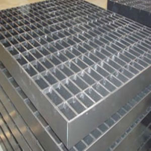 Erosion resistant steel grating for viewing platform pictures & photos