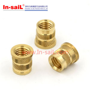 China Fastener Supplier Brass Threaded Insert Nut for iPad Shell pictures & photos