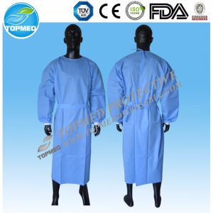 High Quality Unisex Surgeons Isolation Gown/ Surgical Gown with Eo-Sterilized pictures & photos