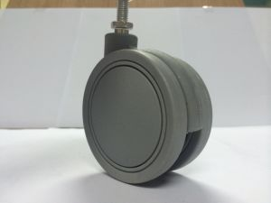 Rubber Wheel, Office Chair Castor, Medium Duty PU Caster pictures & photos