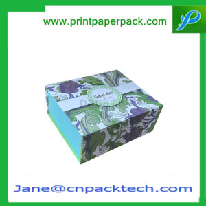 Custom Offset Printing Flat Pack Paper Gift Packaging Book Box pictures & photos