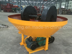 China Prefessional Wet Pan Mill Manufacturer /Gold Ore Grinding Wet Pan Mill Price pictures & photos