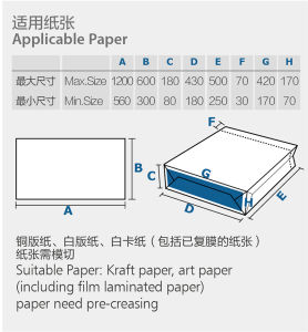 Automatic Sheet-Feeding Paper Bag Making Machine (Zb1200s-430) pictures & photos