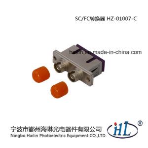 Duplex Sc-FC Multimode Fiber Optic Adapter with Zinc Alloy pictures & photos